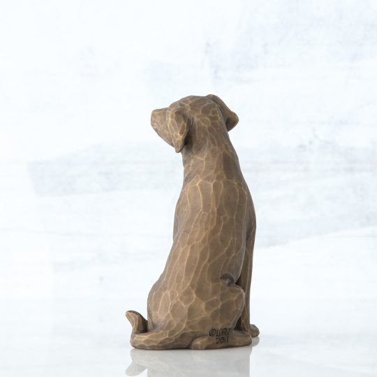 Love my Dog 27683_1 Willow Tree Beeldje