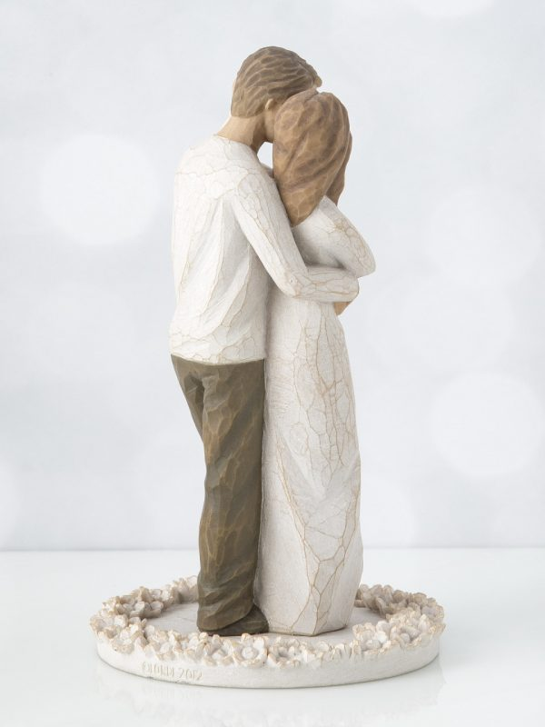 Together Caketopper 27162_1 Willow Tree Beeldje