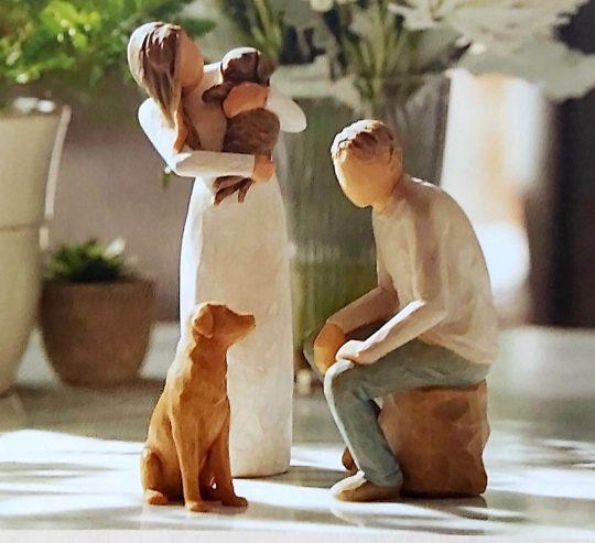 Willow Tree beeldjes Adorable You & My Guy